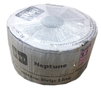 Крапельна эмиттерная стрічка Neptune, 16мм, 6 mil, крок - 30 см 3200м/бухта