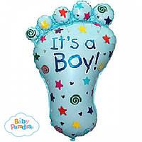 """Гелиевый шарик ножка младенца """"It's a Boy"""""""
