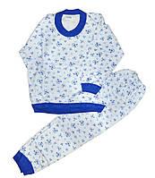 Пижама детская трикотажная для мальчиков. размер 7-8 лет