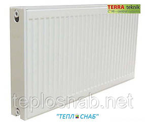 """Радиатор""""TERRA TEKNIK"""" тип 22 500*400 нижнее подключение"""
