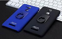 Пластиковый чехол Imak с кольцом-подставкой для Asus Zenfone 3 Max(ZC520TL)(2 цвета)