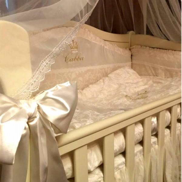Именные постельные комплекты в кроватку 26
