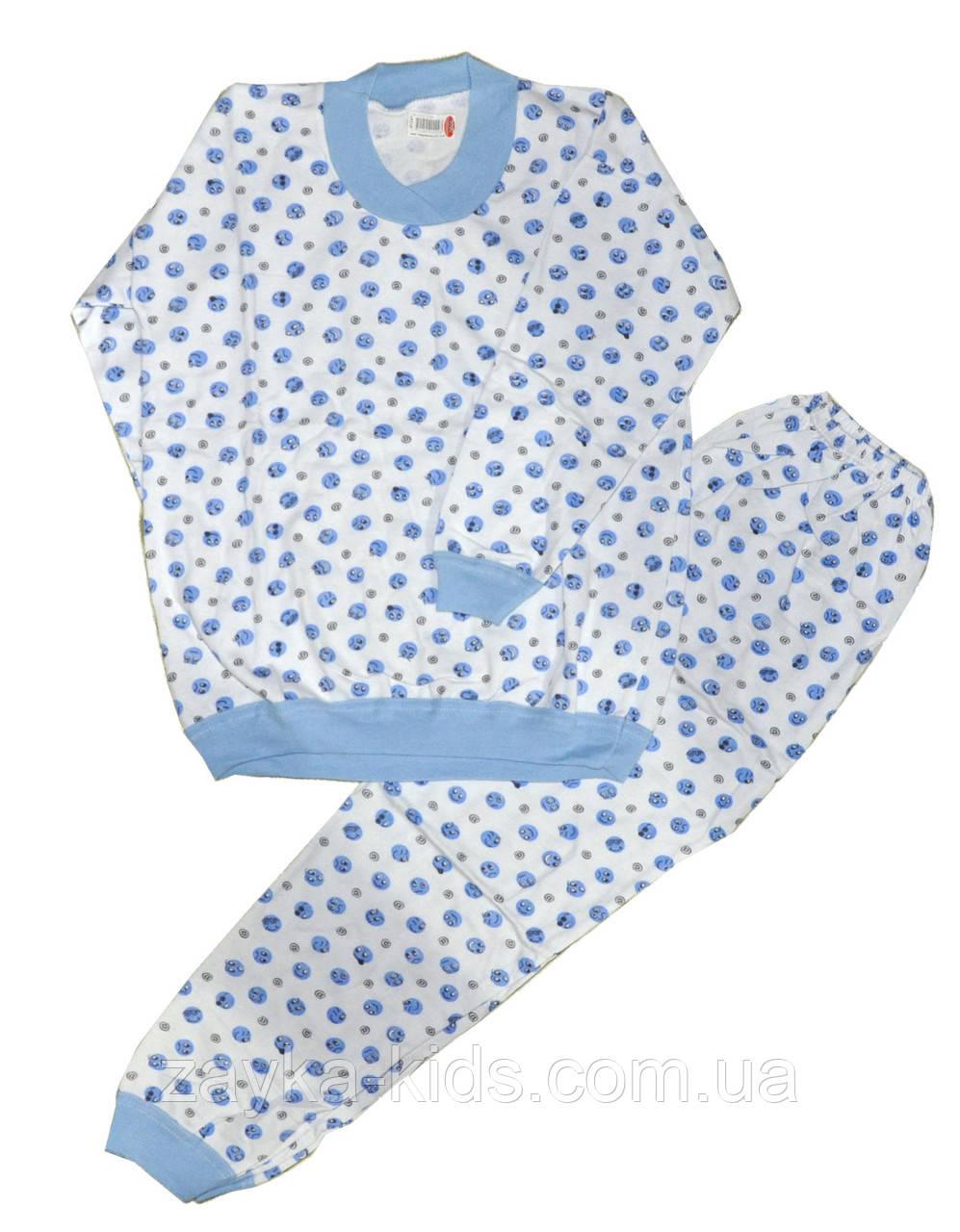 """Пижама детская трикотажная с начесом для мальчиков. размеры 9-10 лет - """"ZAYKA"""" Оптовая продажа детской одежды в Одессе"""