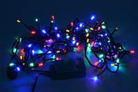 Электрическая световая гирлянда 401 LED LIGHT (синяя, разноцветная)