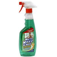 Моющее средство для окон Mr Muscle зеленый колпачок-распылитель 500 мл