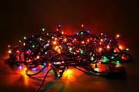 Новогодняя разноцветная гирлянда 302 LED LIGHT, электрическая гирлянда
