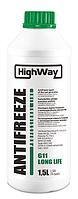 Антифриз концентрат HighWay G11 зеленый 3,78л