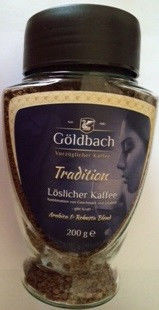 Кофе растворимый Goldbach Tradition , 200 гр с/б