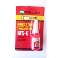 Фиксатор резьбового соединения (красный) Zollex BFS-6 10г