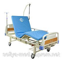 Ліжко механічна медична чотирьохсекційна HBM-2M