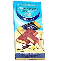 Молочный шоколад Maître Truffout Grazioso с ванильной начинкой, 189 г (6x31,5 г)