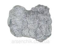 """Пряжа для вязания из овечьей шерсти """"Eluna"""" светло-серая"""