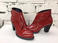 Женские зимние ботинки,полусапожки, натуральная кожа, замш