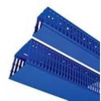 Перфорированный кабель-канал RL12 60х80 синий