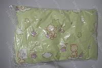 Детская подушка антиалергенная 40х60 см зеленая