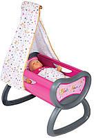 Колыбель - кроватка с балдахином для куклы Baby Nurse Smoby (220311)