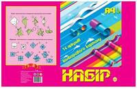 Картон для творчества А4 Тетрада 14 листов цветной