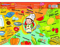 Коврик для творчества Cool For School CF61480-09 Еда 385 х 270 мм