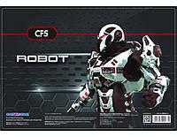 """Коврик для творчества 385х270мм. CFS CF69000-04 """"Robot"""""""
