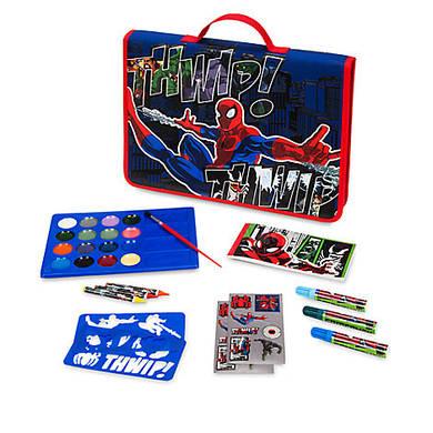 Набор для творчества спайдермен Дисней / Spider Man Art Folio Disney