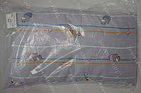 Детская подушка антиалергенная 40х60 см голубая