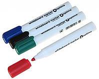 Маркер для доски Optima O16206-04 зеленый треугольный