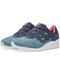 Оригинальные кроссовки  Asics Gel Lyte III 'Christmas' Blue Mirage & India Ink