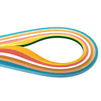 Набор бумаги для квиллинга №18 Мицар 5 мм/102 полосок 6 цветов
