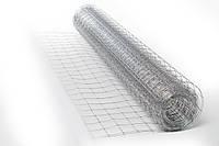 Сварная оцинкованная сетка для ограждений. Ячейка: 60х60мм., Проволока: 1,8мм, Ширина: 1,5м.