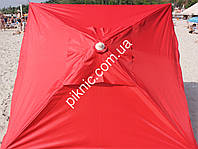 Зонт торговый, садовый 2х3м с клапаном. Прочный зонт для торговли на улице!