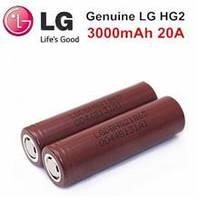 Аккумулятор 18650 Li-Ion LG HG2 3000mAh 20A