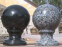 Шары из натурального камня гранита 005