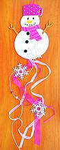 Підвіска сніговик 100 см