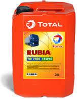 Масло моторное TOTAL RUBIA TIR 7400 15w40
