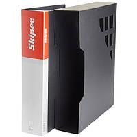Папка А4  с 100 файлами  SК-100 чорна (410908) в футляре
