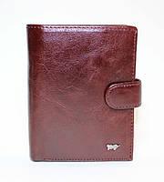 Мужское кожаное портмоне Braun Buffel коричневого цвета