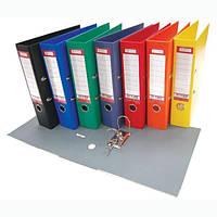 Папка-регистратор банковская 8см. Е30725-02 синяя