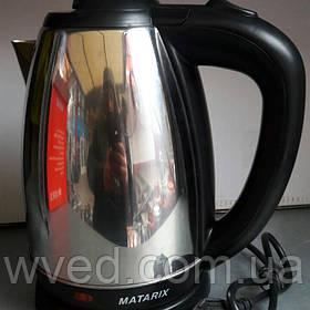 Чайник дисковый электрический Matarix 1800Вт
