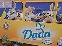 Подгузники детские DADA Comfort fit (4) maxi 7-18кг 108 шт