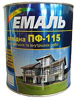 Эмаль алкидная ПФ-115 ХИМТЕКС, 0,9 кг красная