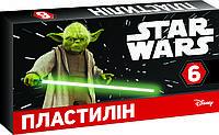 """Пластилин  6цв. """"Star Wars"""" 105г (557007) Мицар (40)"""