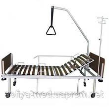 Ліжко механічна медична двосекційна Біомед A 26
