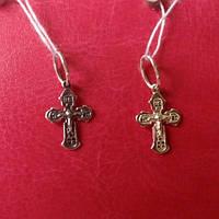 Крестик серебряный детский