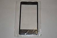 Стекло дисплея (экрана) для Nokia Lumia 800 (черный цвет)
