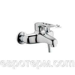 Смеситель для ванны короткий гусак с евро переключением Haiba Hansberg 009