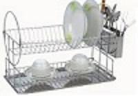 Сушилка 2ух ярус. С нерж поддоном (331*227*H=359) мм, кухонная посуда
