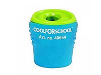 """Точилка для карандашей Cool For School CF40664 с контейнером и клипом """"Neon"""""""