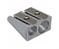 Точилка для карандашей Economix Е40602 металлическая двойная