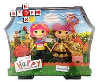 Игровой набор куклы Lalapupsy Лалалупси и их питомцы (2 куклы +2 питомца в комплекте)