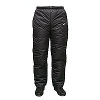 Теплые мужские брюки больших размеров на синтепоне  A11515